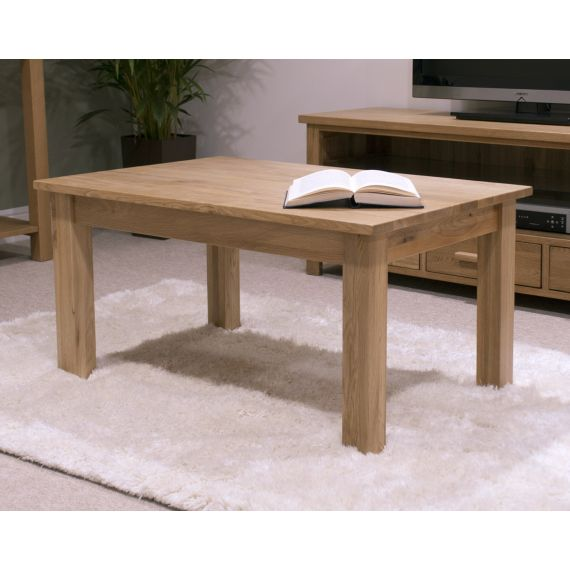 Occasional Solid Oak 3 x 2 Coffee Table