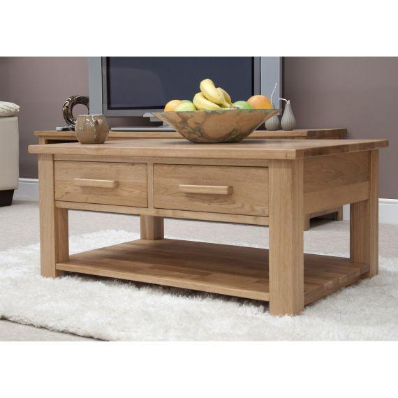 Opus Solid Oak Coffee Table