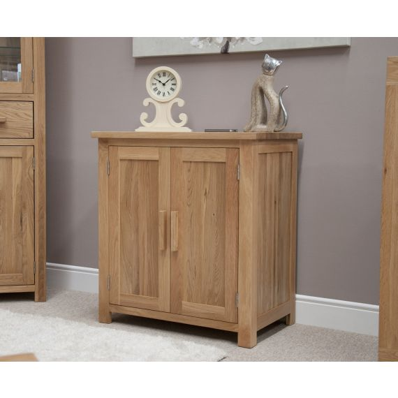 Opus Solid Oak Printer/Occasional Cabinet