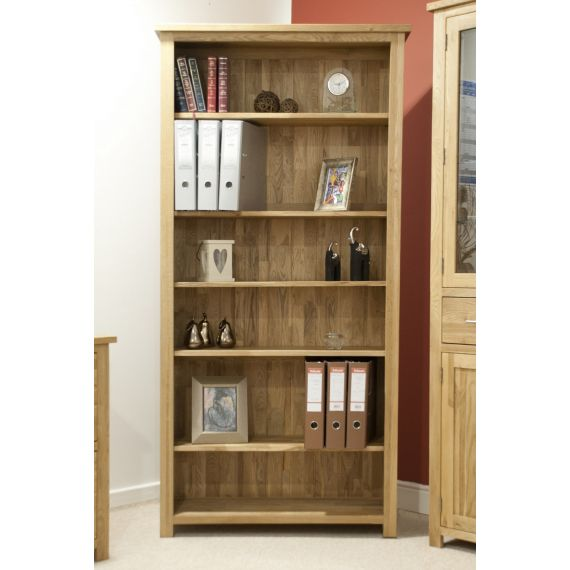 Opus Solid Oak Tall Bookcase