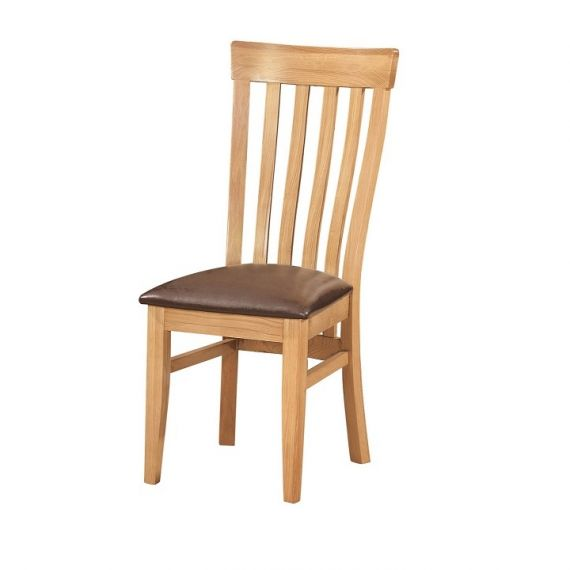 Oxford Contemporary Oak Dining Chair