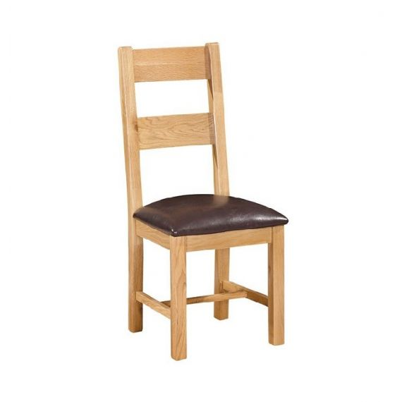 Oxford Contemporary Oak Ladder Back Dining Chair