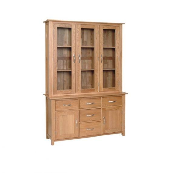 Oxford Contemporary Oak Large Welsh Dresser