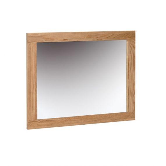 Oxford Contemporary Oak Wall Mirror 75x60cm