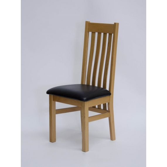 Perugia Solid Oak Dining Chair
