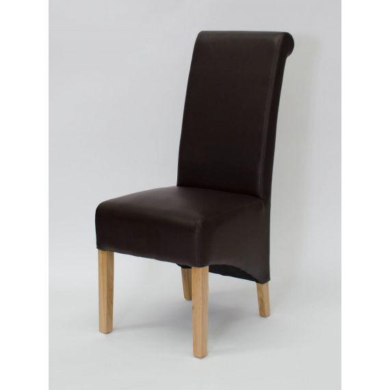 Richmond Coco Matt Leather Dining Chair