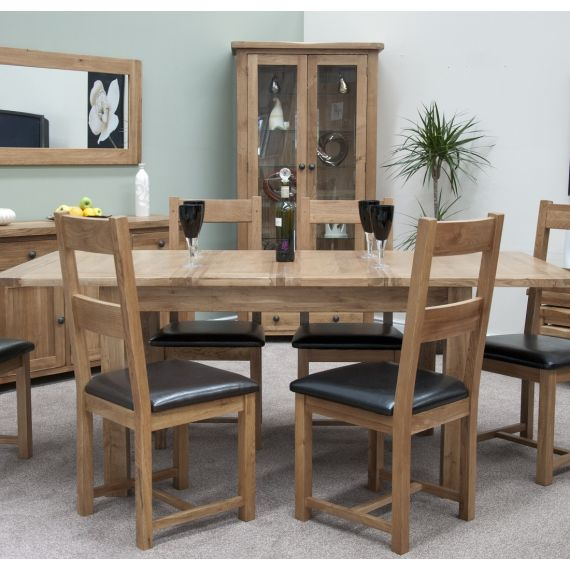 Rustic Solid Oak Dining Chair