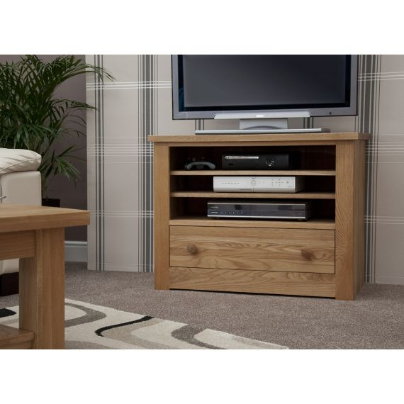Torino Solid Oak TV Unit