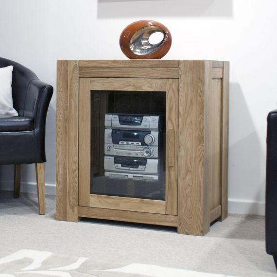 Trend Solid Oak Hi-Fi Cabinet/Unit