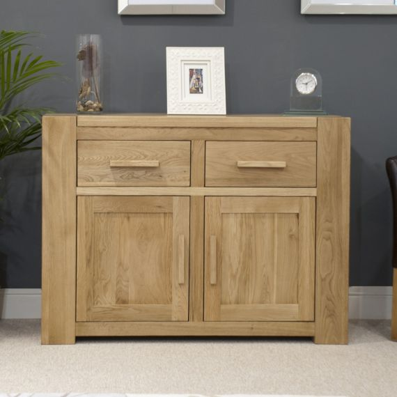 Trend Solid Oak Small 2 Door Sideboard