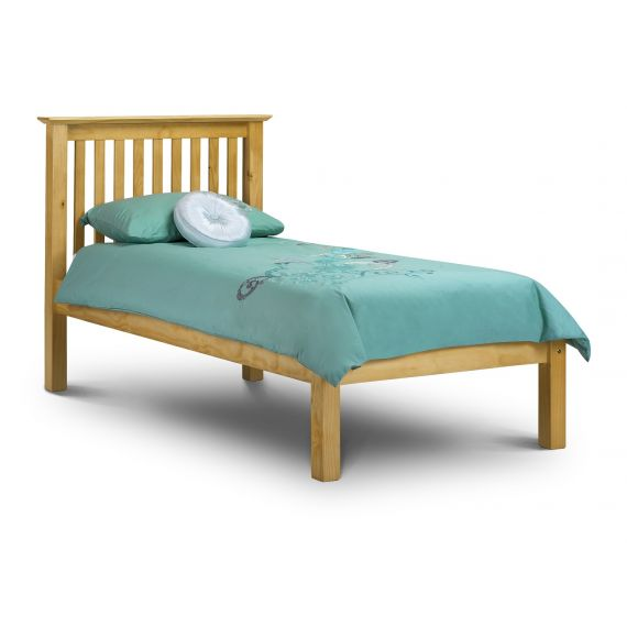 Trent Solid Pine Low Foot End 3ft Single Bed