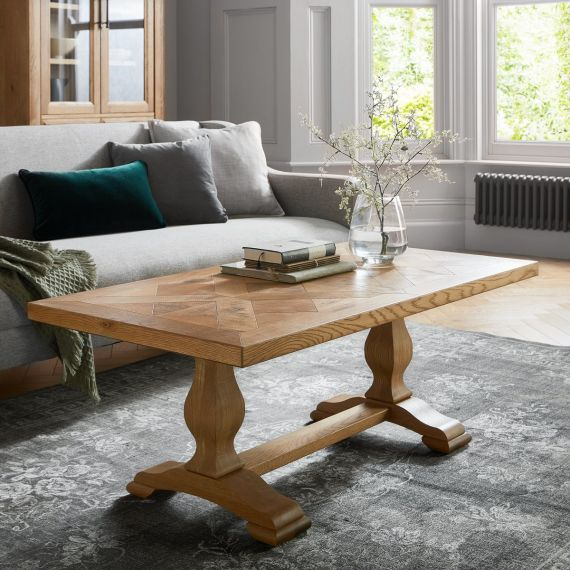 Belgrave Rustic Oak Coffee Table