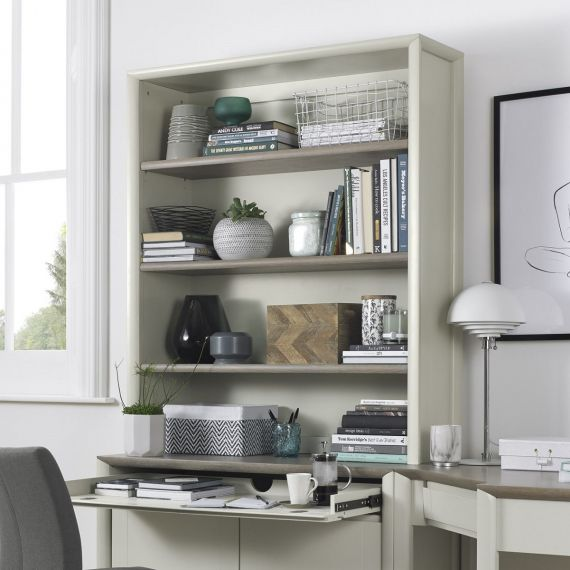 Bergen Grey Washed Oak & Soft Grey Large Top Unit