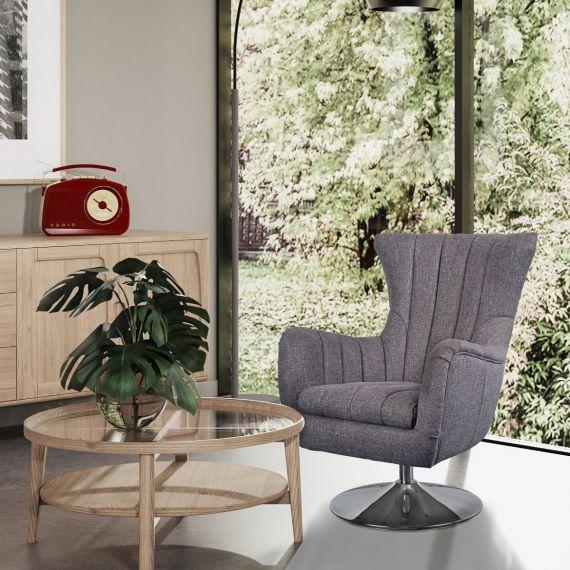 Cadiz Chair - Piero Bramble Fabric
