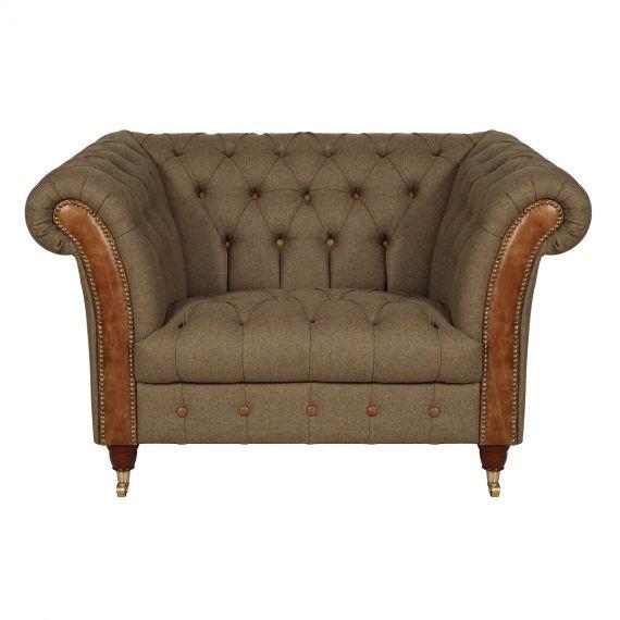 Chester Club Snuggler Chair