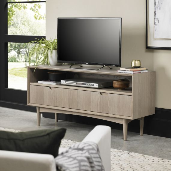 Dansk Scandi Oak TV Entertainment Unit
