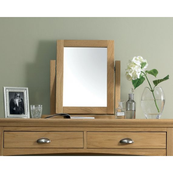Hampstead Oak Dressing Table Mirror