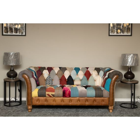 Harlequin Patchwork Sofa - 2 seater