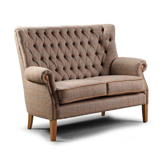 Hexham 2 Seater Sofa - Hunting Lodge Harris Tweed