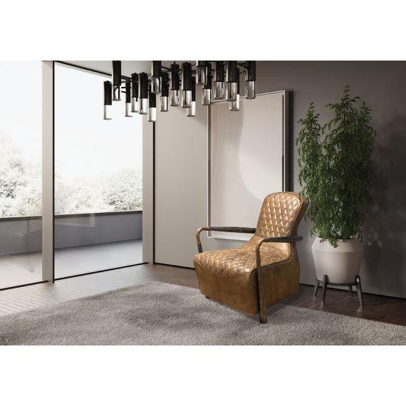 Liberty Snug Chair - Tan Brown Leather