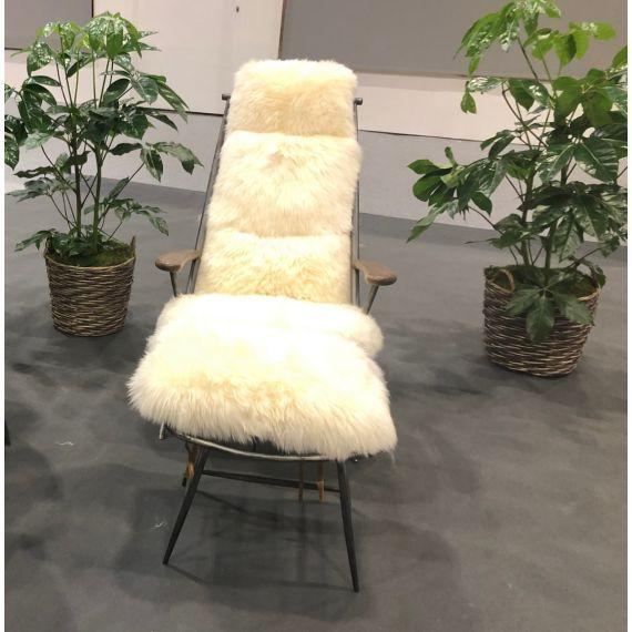 Milly Baa Baa Chair - White Sheeps Wool