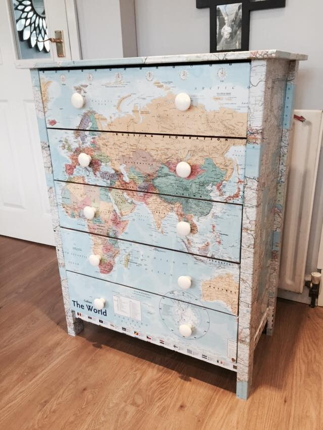 A Decoupage Guide Upcycling Your Bedroom Furniture Oak Furniture Uk