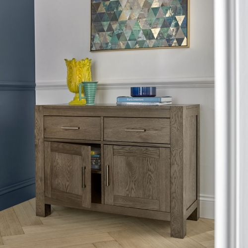 Turin Dark Oak Small Sideboard