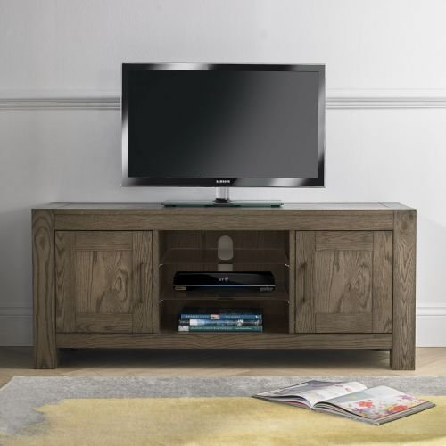 Turin Dark Oak TV Unit