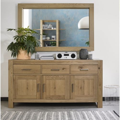 Turin Light Oak Large Sideboard