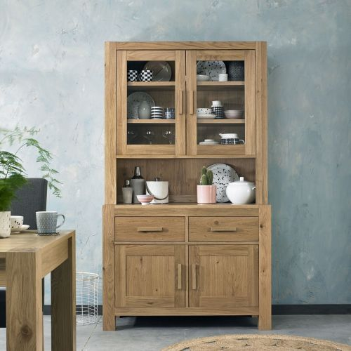 Turin Light Oak Welsh Dresser
