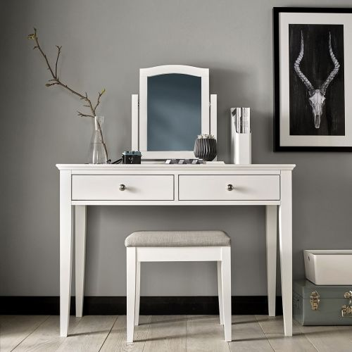 Ashby White Painted Dressing Table - Ashby Bedroom Furniture