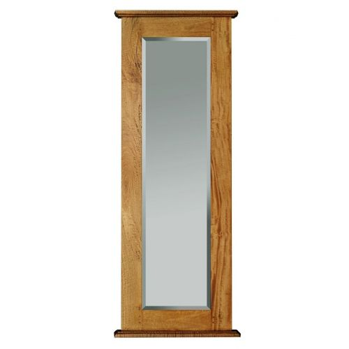 Asian Solid Mango Wood Long Mirror