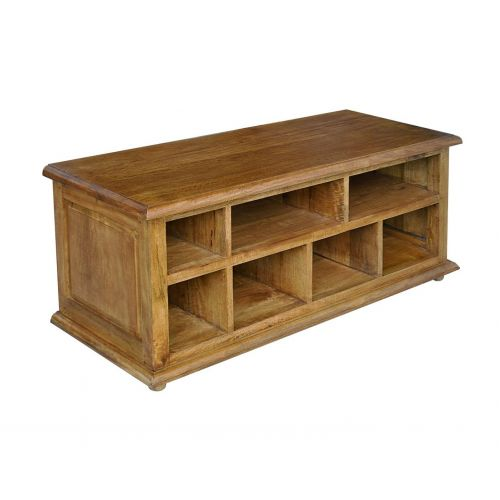 Asian Solid Mango Wood TV Media Unit
