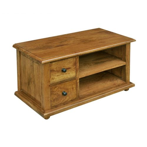 Asian Solid Mango Wood TV Unit