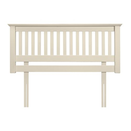 Aspen White 5' King Size Headboard