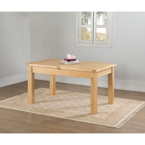 Aylesbury Contemporary Light Oak Large Extending Dining Table