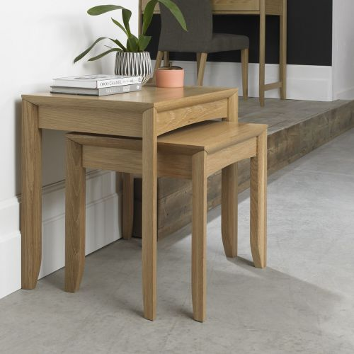 Bergen Oak Nest of Tables