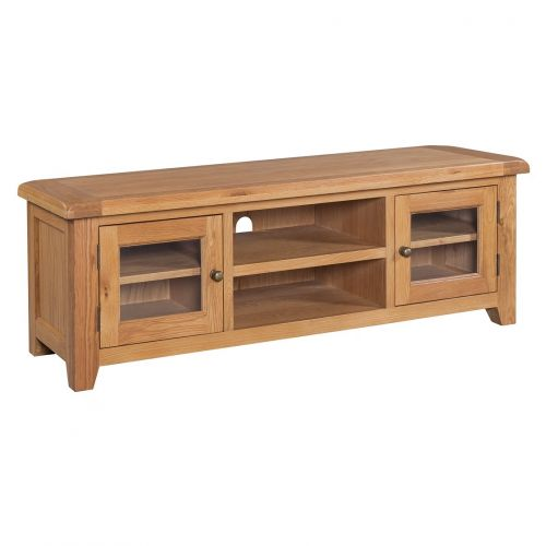 Buttermere Light Oak Wide Screen TV Unit