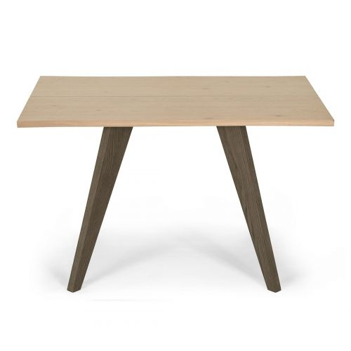 Cadell Aged & Weathered Oak 4 Seater Fixed Top Dining Table - Cadell Furniture