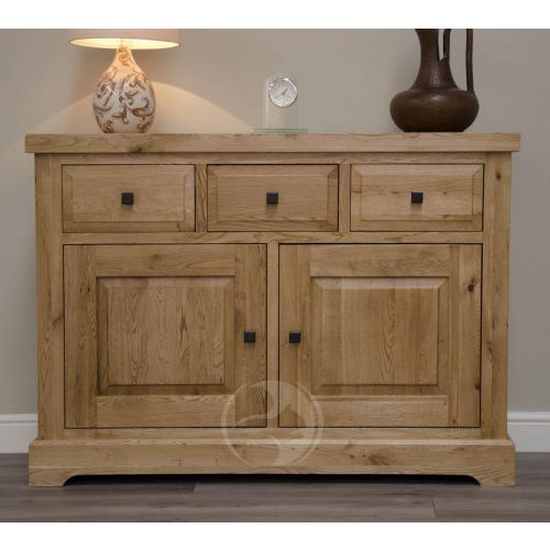 Coniston Rustic Solid Oak Medium Sideboard