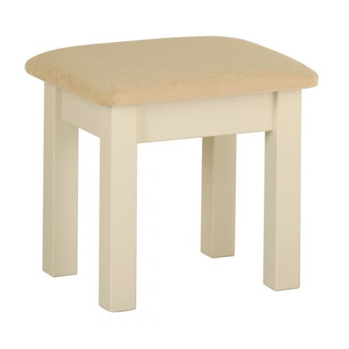 Country Oak and Painted Dressing Table Stool