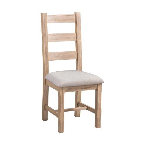 Crummock Cedar Wood Ladder Back Dining Chair