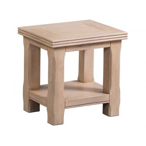 Crummock Cedar Wood Lamp Table