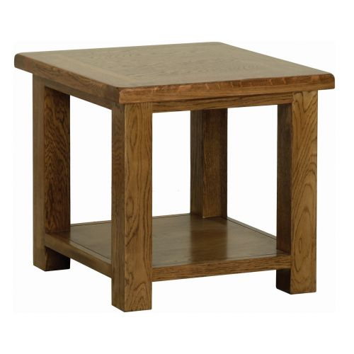 Edinburgh Rustic Oak 53 x 53cm Coffee Table