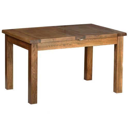 Edinburgh Rustic Oak Extending Dining Table