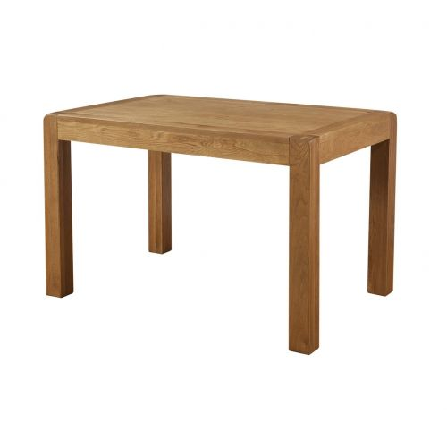 Fairfield Oak 120 x 80cm Fixed Top Dining Table
