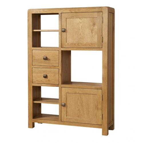 Fairfield Oak Display Unit