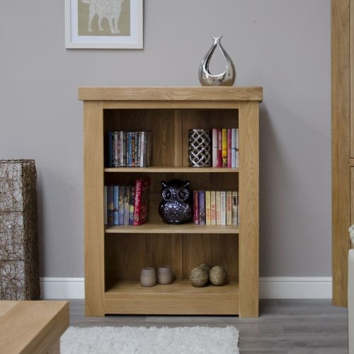 French Bordeaux Oak Small Bookcase