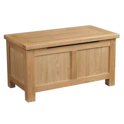 Grasmere Light Oak Blanket Box