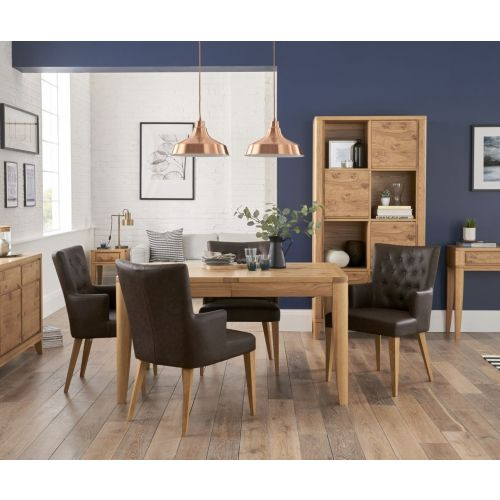High Park Pippy Oak Small Extending Dining Table - High Park Furniturre